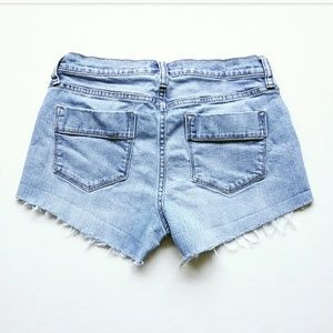 Old Navy Shorts - Old Navy Distressed Cut Off Jean Shorts